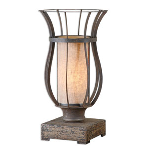 Minozzo Rustic Bronze One-Light Accent Lamp
