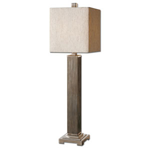 Sandberg Aged Gray One-Light Buffet Lamp
