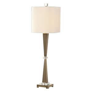 Niccolai Antique Nickel One-Light Lamp