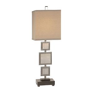 Idalgo Brushed Nickel One-Light Table Lamp