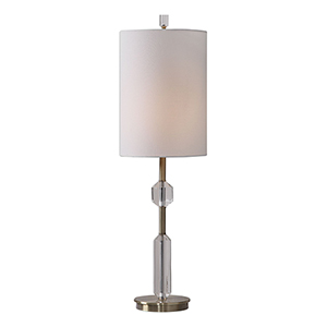 Margo Crystal One-Light Buffet Lamp