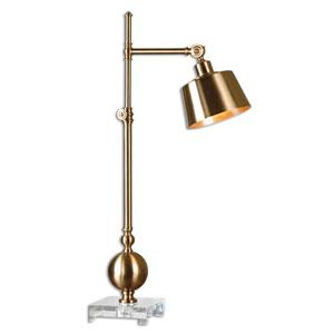 Laton Brushed Brass One-Light Task Lamp
