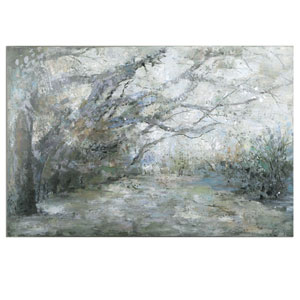 Forest Lane by Matthew Williams: 60 x 40-Inch Canvas Wall Art