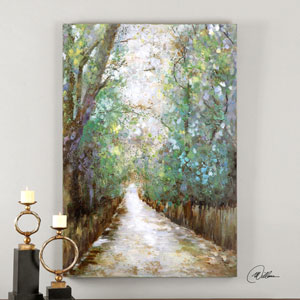 Greenway by Matthew Williams: 40 x 60-Inch Hand Painted Wall Art