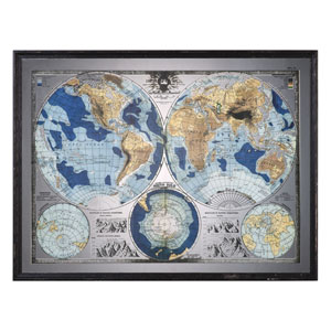 Mirrored World Map