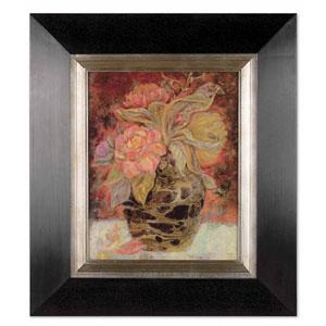 Floral Bunda by Holman: 27 7/8 x 31 7/8 Oil Painting Reproduction
