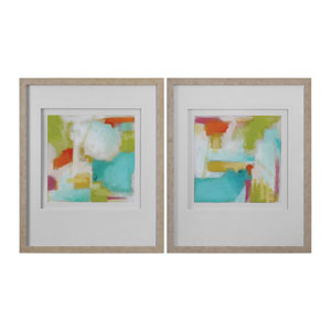 Color Space Watercolor Prints, Set of 2