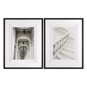 Moments Architectural Prints, Set of Two