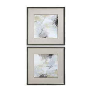 Abstract Vistas Framed Prints, Set of Two