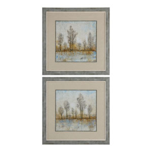 Quiet Nature Landscape Prints, Set of Two