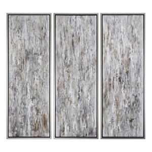 Shades of Bark Modern Wall Art, Set of 3