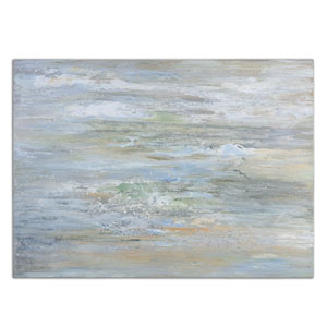 Misty Morning by Grace Feyock: 48 x 36 Hand Painted Art