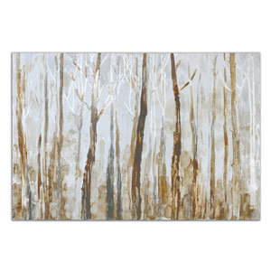 Mystic Forest by Grace Feyock: 60 x 40 Hand Painted Art