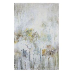 Sunshine Thru The Rain by Grace Feyock: 48 x 72-Inch Modern Art