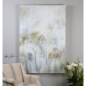 Sunshine Thru The Rain by Grace Feyock: 48 x 72-Inch Modern Art