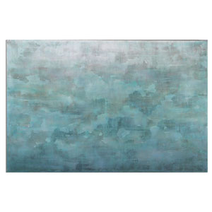 Frosted Landscape by Grace Feyock: 60 x 40-Inch Modern Wall Art
