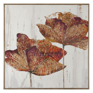Golden Accents by Grace Feyock: 62 x 62-Inch Wall Art