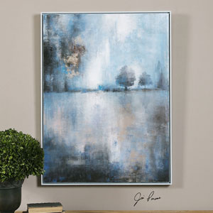 Lake At Dusk by Jim Parsons: 31 x 41-Inch Hand Painted Wall Art