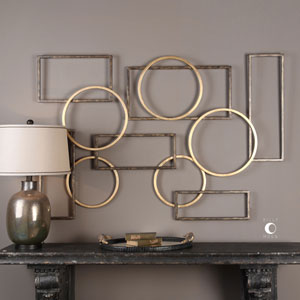 Elias Bronze And Gold Wall Art