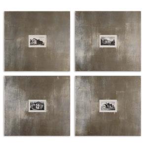 Historical Buildings: 23.125 x 21.125 Wall Art, Set of Four