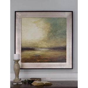 New Land Silver 44.63-Inch Framed Art