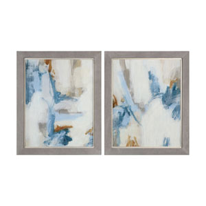 Intermittent Abstract Modern Art, Set of Two