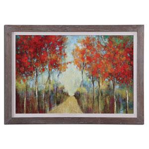 Natures Walk Light Gray Glaze 29.63-Inch Decorative Art