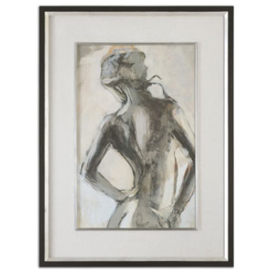 Gesture by Grace Feyock: 38.12 x 50.12 Feminine Art