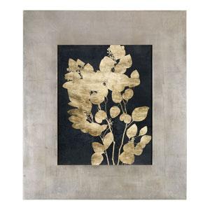 Custom Postage Leaves Gold Foil Print