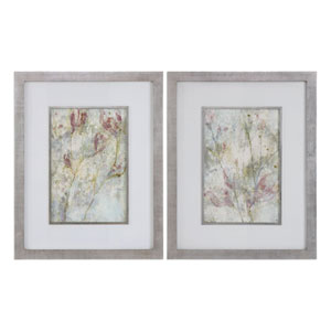 Flower Dreams Pastel Prints, Set of Two