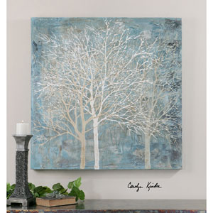 Muted Silhouette Natural Canvas Art