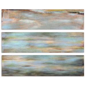 Horizon View Panel: 12 x 48 Wall Art, Set of Three