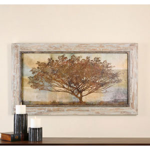 Autumn Radiance Sepia by Grace Feyock: 56 x 32-Inch Framed Art
