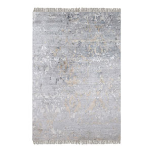 Bhutan Gray Rectangular: 6 Ft. x 9 Ft. Rug
