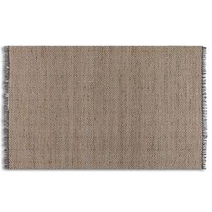 Nalanda Natural and Jute 8 Ft. x 10 Ft. Hand Woven Rug