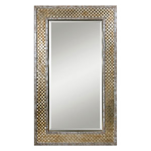 Mondego Brushed Nickel Mirror