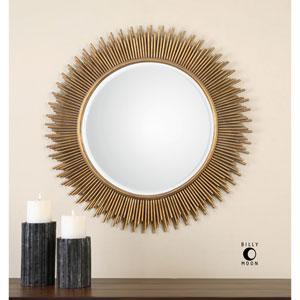 Marlo Gold Round Mirror
