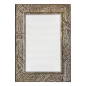 Fortuo Weathered Driftwood Mirror