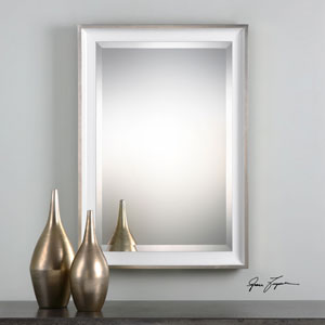 Lahvahn Gloss White Mirror