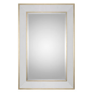 Cormor White and Gold Mirror