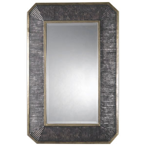Isaiah Burnished Bronze and Gold Mirror