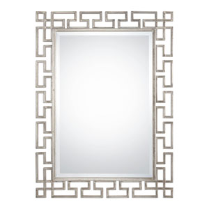 Agata Antique Silver Mirror