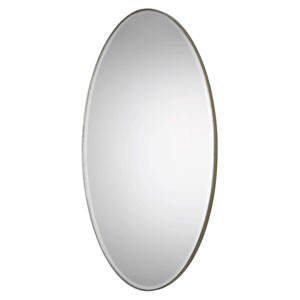 Petra Antique Silver Mirror