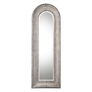 Argenton Aged Gray Arch Mirror