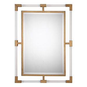 Balkan Modern Gold Wall Mirror