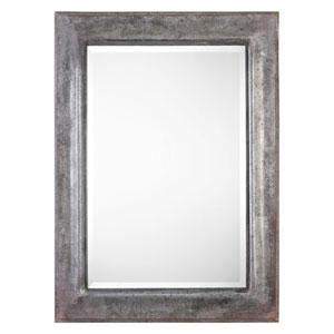 Agathon Aged Stone Gray Mirror