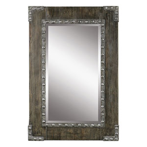 Malton Rustic Wood Mirror