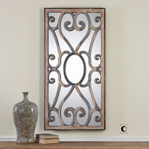 Rosalind Carved Wooden Frame Mirror