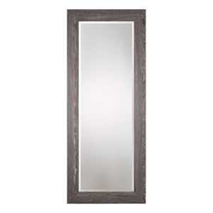 Beresford Oversized Charcoal Wood Mirror