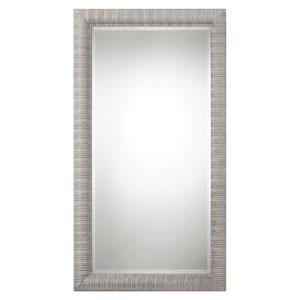 Abenaki Ivory Gray Oversized Mirror